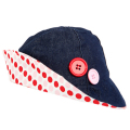 Ava Denim & Strawberry Shortcake Hat