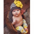 Sunflower Ziggy Beanie Hat