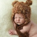 Brown Bear Beanie Hat