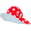 Bridgette Large Red Dot Hat