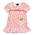 Jessie Pink Apple Pip Dress