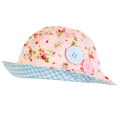 Ava Watermelon Pink Strawberry Hat