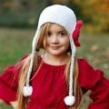 Whimsy Bllom Beanie Hat