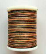 縫糸・キルトにも使える綿100%段染め糸 30番手 300M巻 〈J〉 【黄色・橙・緑・黒】