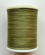 縫糸・キルトにも使える綿100%段染め糸 30番手 300M巻 〈K〉 【緑・抹茶・黄緑】