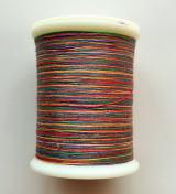 縫糸・キルトにも使える綿100%段染め糸 30番手 300M巻 〈O〉 【紫・緑・赤・橙】