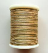 縫糸・キルトにも使える綿100%段染め糸 30番手 300M巻 〈P〉 【黄色・ベージュ・黄緑】