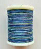 縫糸・キルトにも使える綿100%段染め糸 30番手 300M巻 〈Q〉 【紫・緑・青・水色】