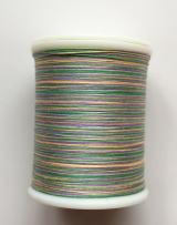 縫糸・キルトにも使える綿100%段染め糸 30番手 300M巻 〈V〉 【薄紫・黄緑・緑】