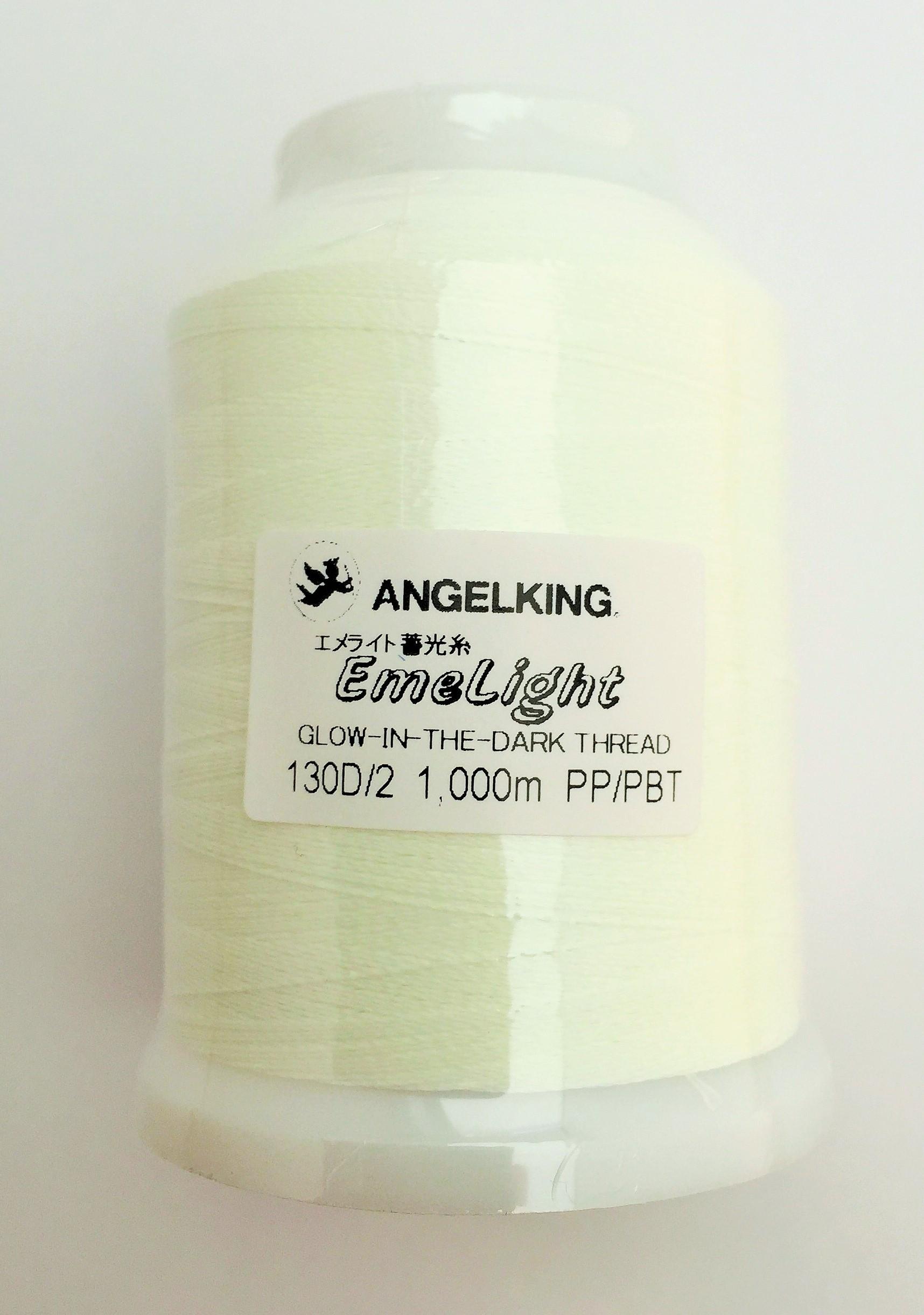 エンゼルキング 蓄光糸 EL-1(生成) 1000m