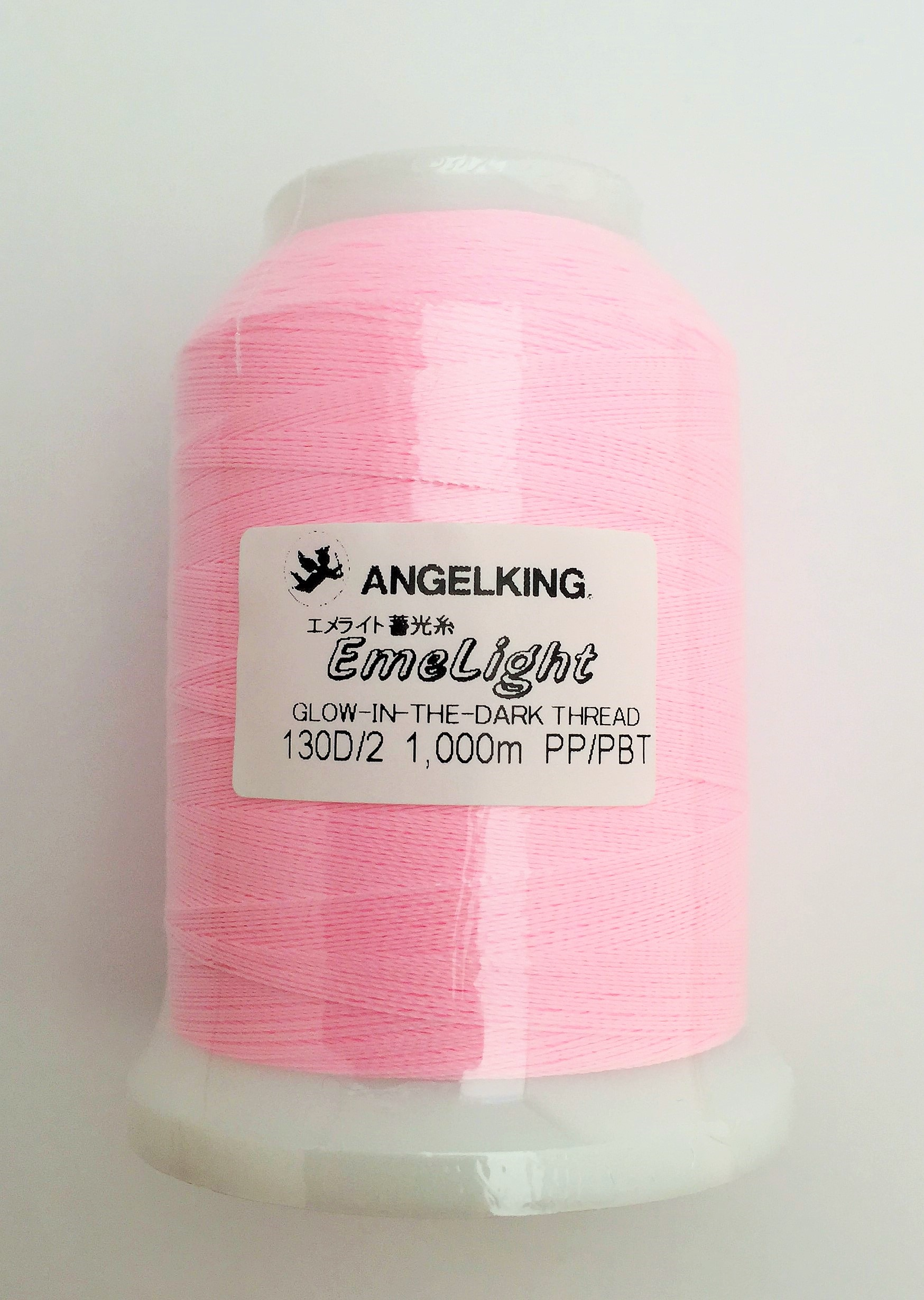エンゼルキング 蓄光糸カラー EL-3(ピンク) 1000M