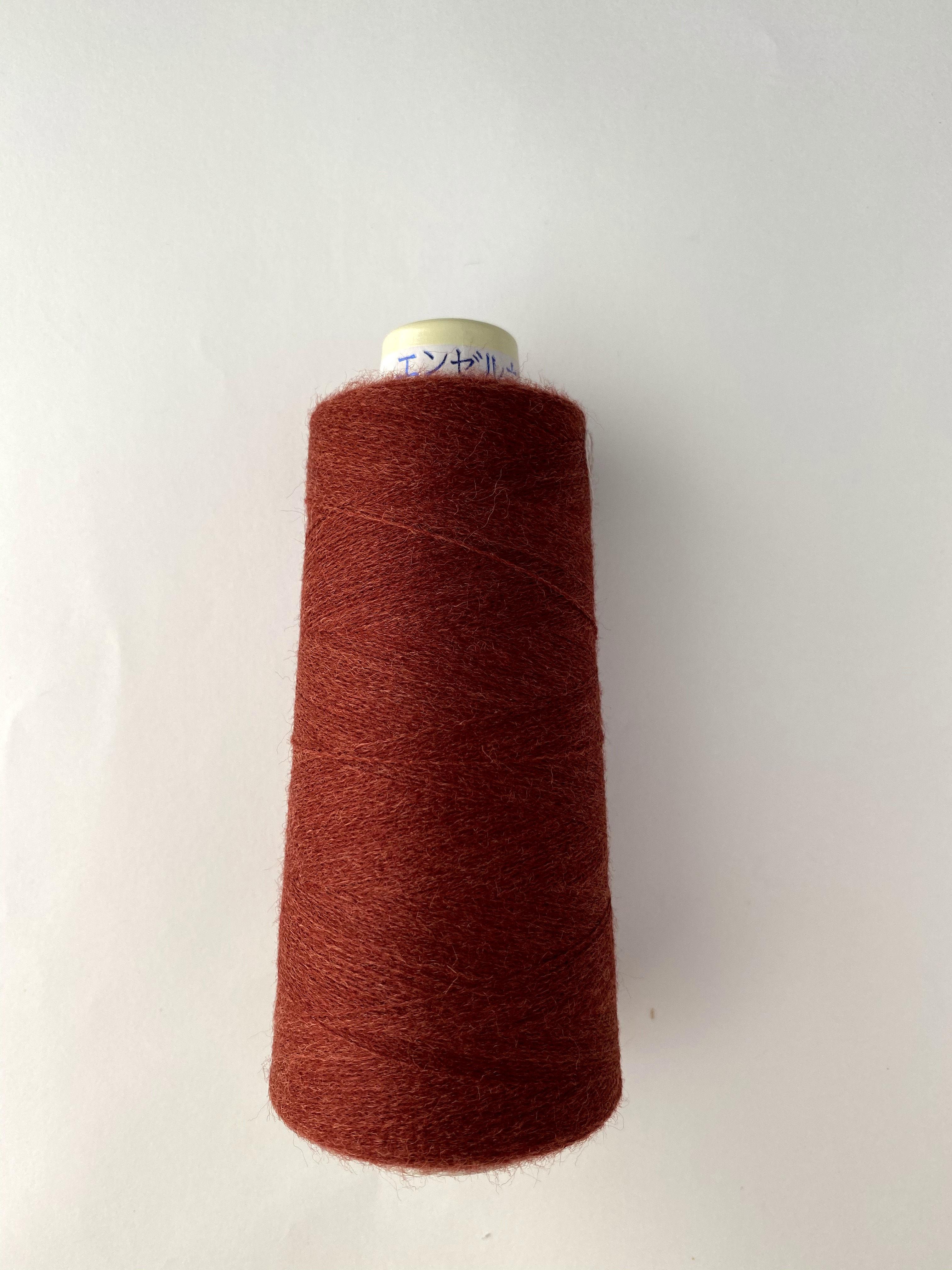 フィールソフト(片染め杢カラー) 1250m <1419/赤茶>