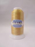 エンゼルキング 金糸の縫い糸 20番手 ゴールド 600m巻