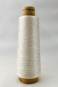 エンゼルキングミシン刺繍糸 金銀糸(太物)5掛 シルバー 1,000m巻
