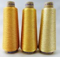 エンゼルキングミシン刺繍糸 金銀糸(太物)3掛 ゴールド 1,000m巻