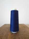 コットンライン#30 綿ミシン刺繍糸 250番(紺)