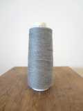 コットンライン#30 綿ミシン刺繍糸 297番(グレー)