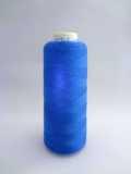 エンゼルキング フィールソフト(48/2) アクリルウールミシン刺繍糸 360デニール 1250M巻 163(青色)
