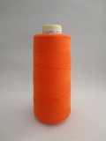 エンゼルキングミシン刺繍糸 ハーフ 綿アクリルミシン刺繍糸 560デニール 810M 35(オレンジ)