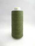 エンゼルキングミシン刺繍糸 ハーフ 綿アクリルミシン刺繍糸 560デニール 810M 58(緑色)