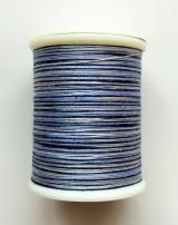 縫糸・キルトにも使える綿100%段染め糸 30番手 300M巻 〈Z〉 【グレー・水色・青】