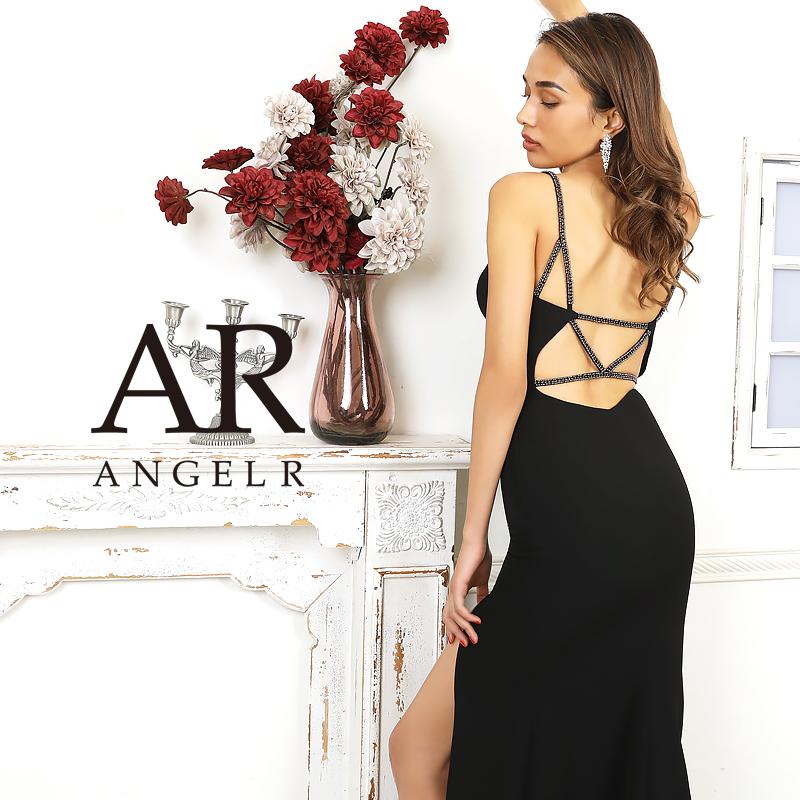 [バックビジューサイドスリットロングドレス]AngelR(エンジェルアール)|AR20221
