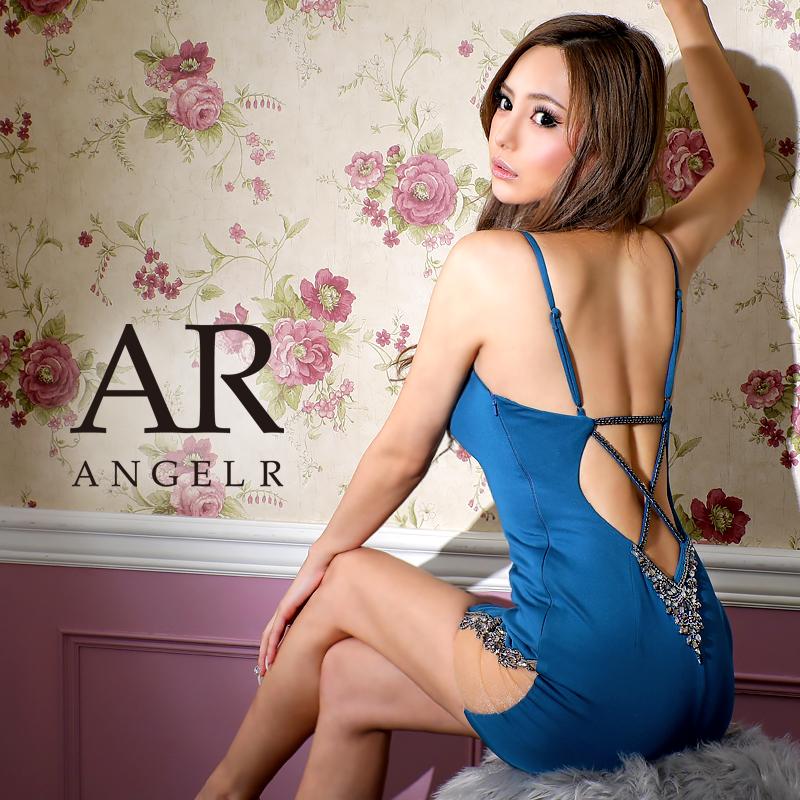 [ビジュー&メッシュデザインタイトミニドレス]AngelR(エンジェルアール)|AR20225