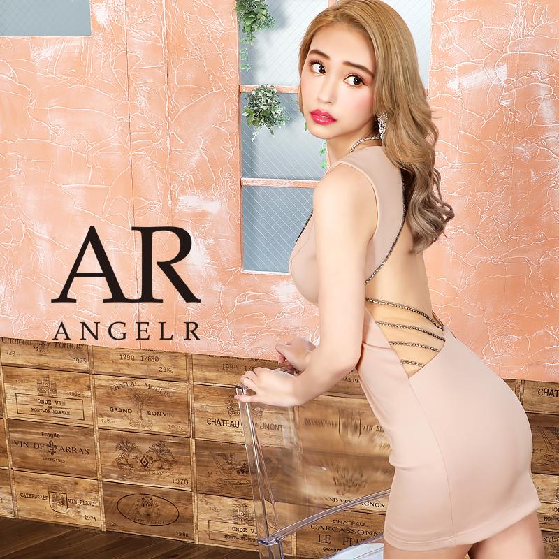 【予約/10月上旬~10月中旬頃より発送】[ラインビジューデザインタイトミニドレス]AngelR(エンジェルアール)|AR20330