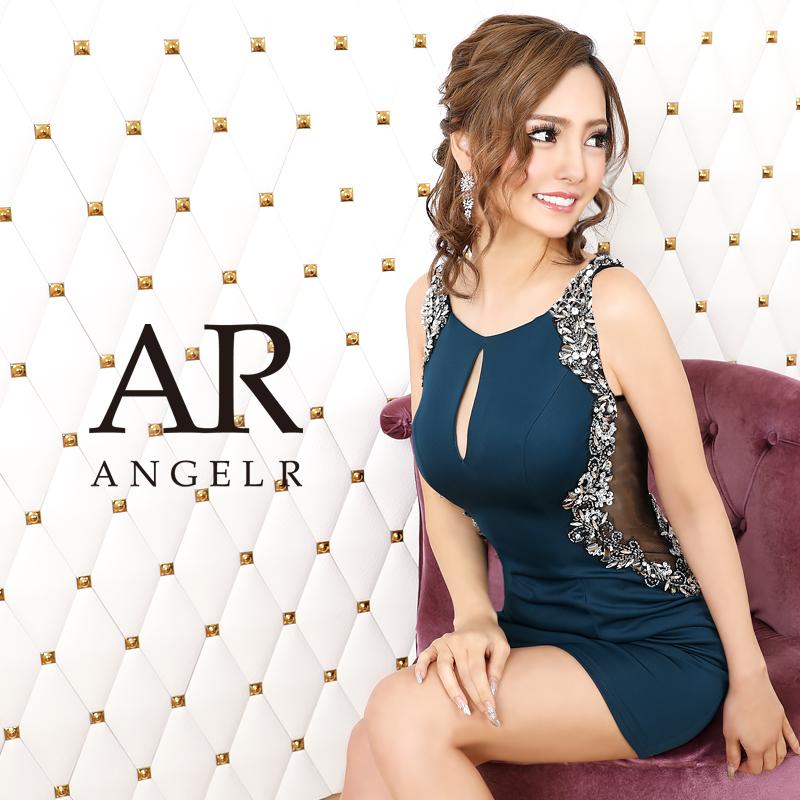 [サイドビジューカッティングタイトミニドレス]AngelR(エンジェルアール)|AR20812