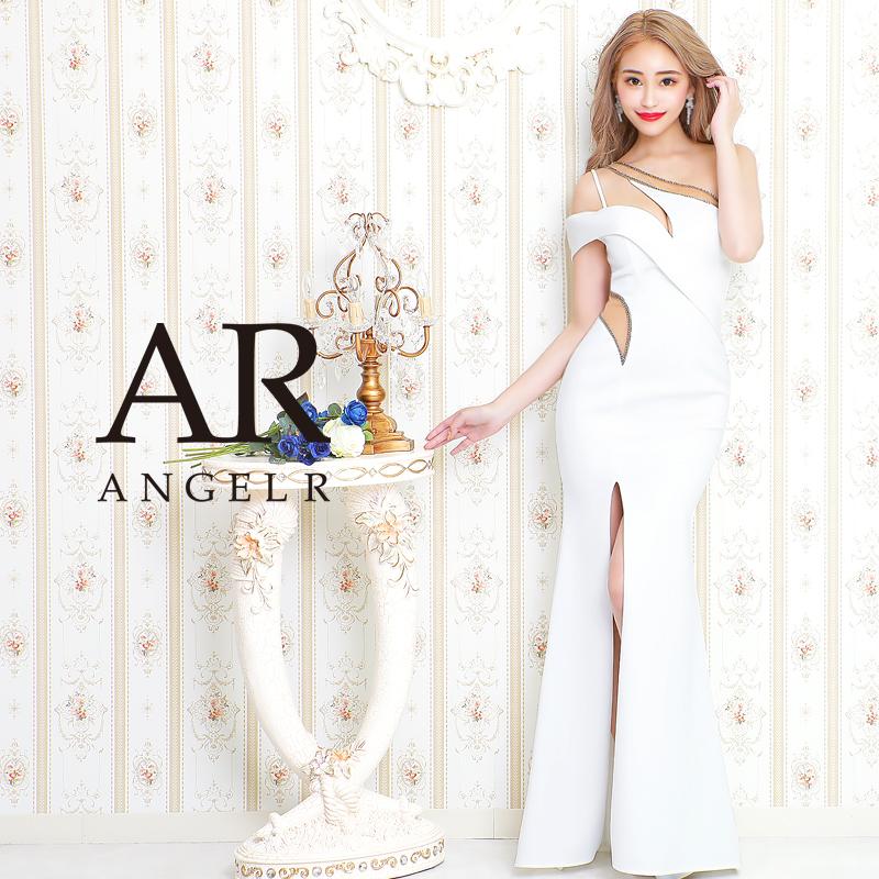 [カッティングデザインワンショルダータイトロングドレス]AngelR(エンジェルアール)|AR20831