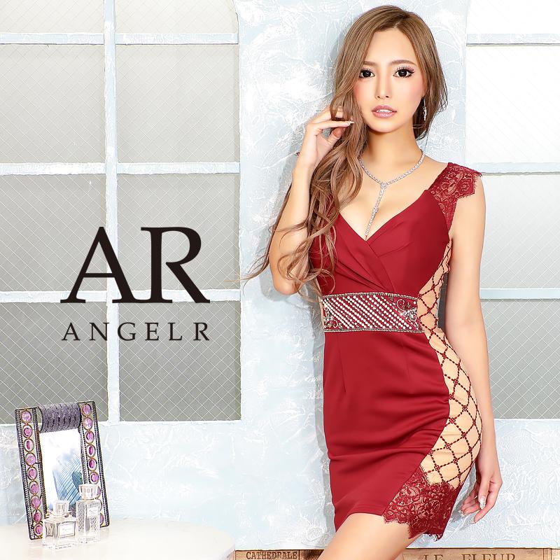 [サイドデザインパターンタイトミニドレス]AngelR(エンジェルアール)|AR20836