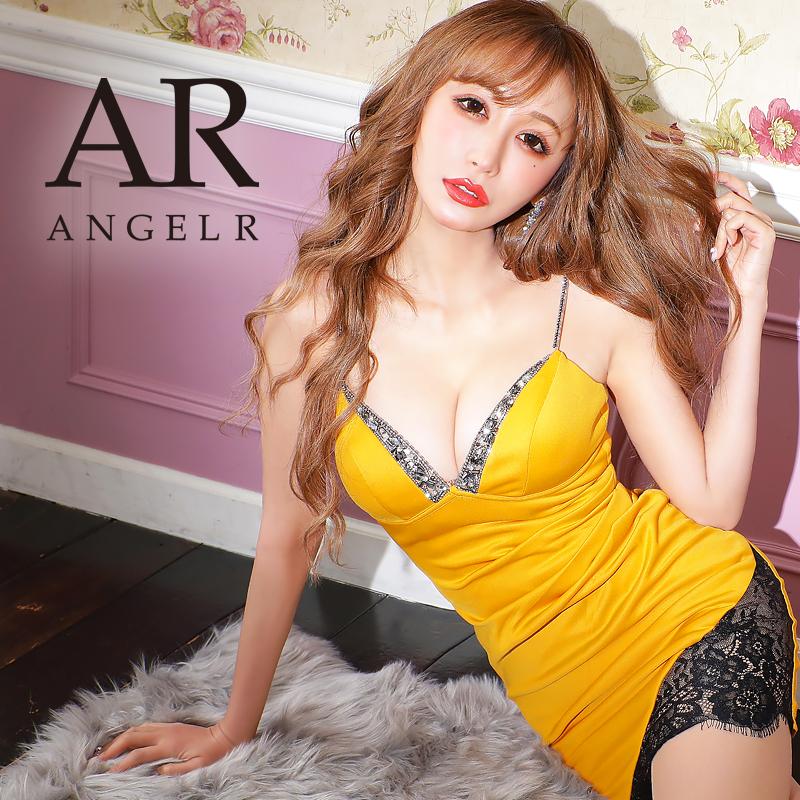 [バストビジューレースカッティングタイトミニドレス]AngelR(エンジェルアール)|AR21205