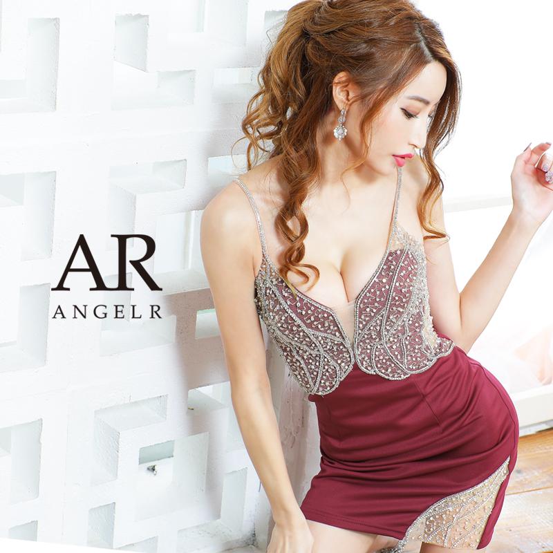 [アッパーレースビジュータイトミニドレス]AngelR(エンジェルアール)|AR21229
