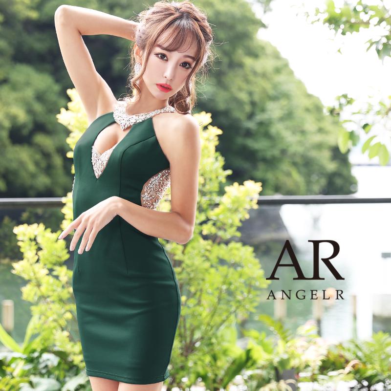 【予約/11月中旬から11月下旬より発送】[デコルテバストビジュータイトミニドレス]AngelR(エンジェルアール)|AR21240