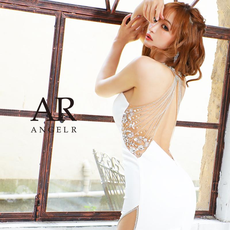 [デコルテバックメッシュビジュータイトミニドレス]AngelR(エンジェルアール)|AR21333