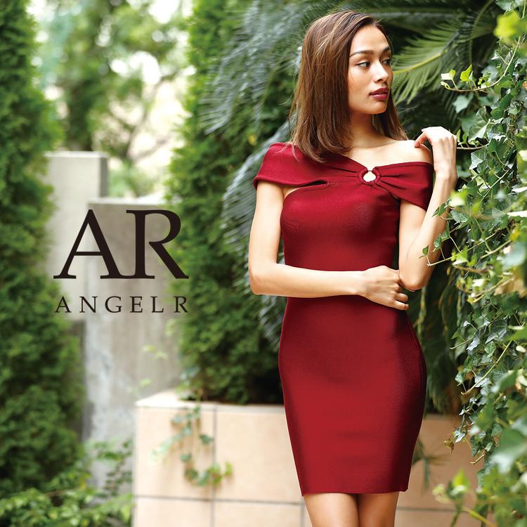 [オフショルダーデコルテモチーフタイトミニバンデージドレス]Angel R(エンジェルアール)|AR8917