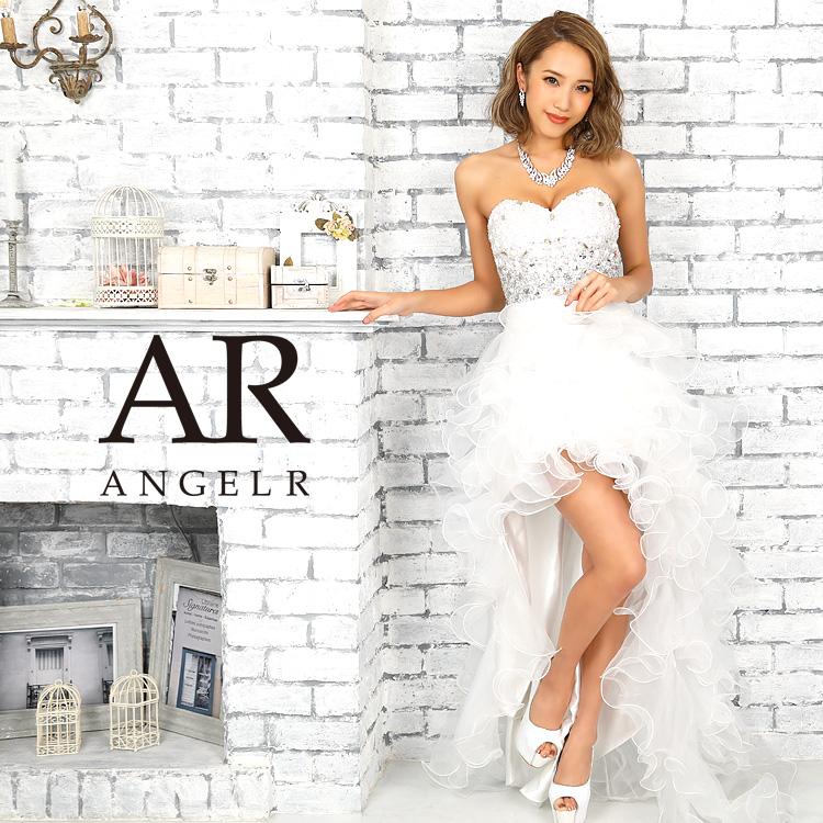 [グラデーションビーズ前ミニロングドレス]AngelR(エンジェルアール) AR9224