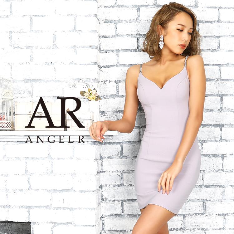 【予約】[バックビジューデザインタイトミニドレス]AngelR(エンジェルアール)|AR9227【9月中旬~下旬頃より発送】