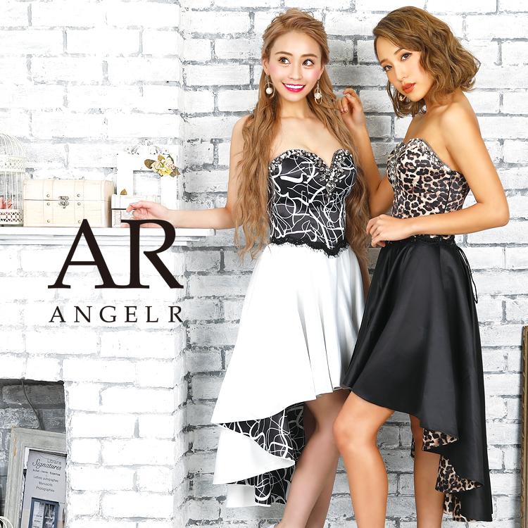 【予約】[デザインパターン切替え前ミニロングドレス]AngelR(エンジェルアール)|AR9233【9月下旬~10月上旬頃より発送】