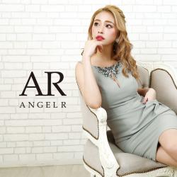 [ワンサイドポケットビジュータイトミニドレス]AngelR(エンジェルアール)|AR20304