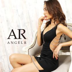 【予約】[サイドパールシアーカットスカートタイトミニドレス]AngelR(エンジェルアール)|AR20323【8月中旬~下旬頃より発送】