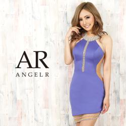 [デコルテオーロラビジューシアーカットスカートタイトミニドレス]AngelR(エンジェルアール)|AR20326