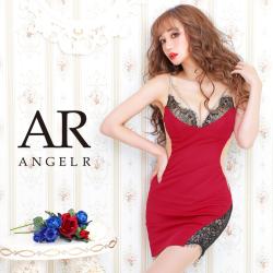 [バストレースデザインラインビジュータイトミニドレス]AngelR(エンジェルアール) AR20340