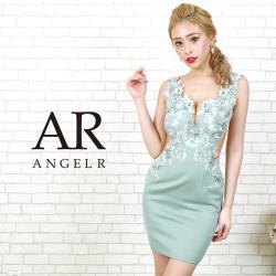 【予約】[フラワーレースサイドシアータイトミニドレス]AngelR(エンジェルアール)|AR20803【2月中旬~下旬頃より発送】