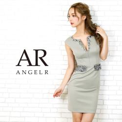 [ウエスト&デコルテビジュータイトミニドレス]AngelR(エンジェルアール)|AR20804