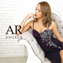 [オーガンジーギャザービジュータイトミニドレス]AngelR(エンジェルアール)|AR20806