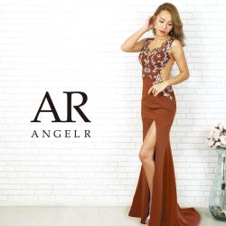 【予約】[フラワーレースサイドシアータイトロングドレス]AngelR(エンジェルアール)|AR20809【2月中旬~下旬頃より発送】