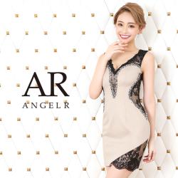 [フラワーレースビジュータイトミニドレス]AngelR(エンジェルアール)|AR20813
