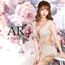 [メッシュカッティングデザインタイトミニドレス]AngelR(エンジェルアール)|AR20825