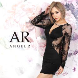 【予約/10月上旬~10月中旬頃より発送】[レースロングスリーブタイトミニドレス]AngelR(エンジェルアール)|AR20826